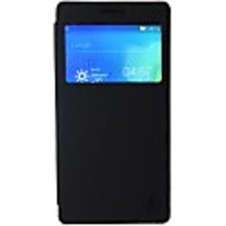 Bee fone Flip Cover for One Plus X(Black)