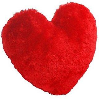 Creative Kids Soft Heart Cushion - 20 inch(Red)