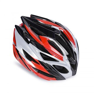 YONKER Cycling Helmet FUSION with Adjuster SENIOR SIZE (RED COLOR)