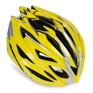 YONKER Cycling Helmet FUSION with Adjuster SENIOR SIZE (YELLOW COLOR)
