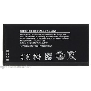 Nokia BN 01 Battery For Nokia X Dual Sim Mobile 1500mAh 3.7V Battery