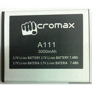 High Quality battery For Micromax Canvas Doodle A111- 3000 mAh