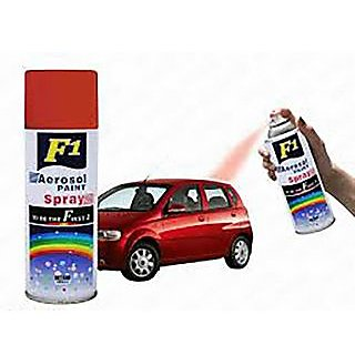 F1 Car Multi Purpose Lacquer Spray Paint red 450Ml Best Gift