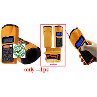 Ultrasonic Tape Measure Distance Meter With Laser Pointer Distance