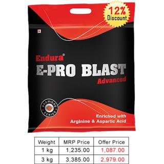Endura E-Pro Blast Adv. Banana 3 Kg.