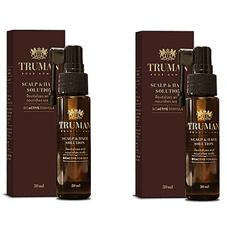 Truman Scalp  Hair Solution (Pack of 2) FOR REPAIRING OF HAIRS GROWTH