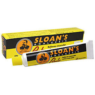 Sloans Analgesic Rub Relieves Muscular Aches Pain 50g Ultra Strength Revealing
