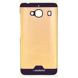 snmobista Motomo Back Cover For Redmi 2 Prime / Redmi 2s - Golden