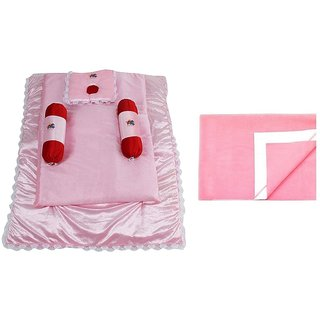 CHHOTE JANAB BABY BEDDING WITH DRY SHEET (6 PCS)