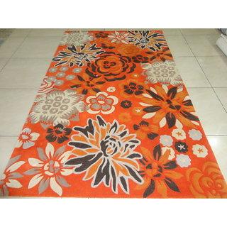 Bhadohi Brand New Handmade Hand Tufted 5x8 150x240 Woolen Carpet Area Rug Kaleen