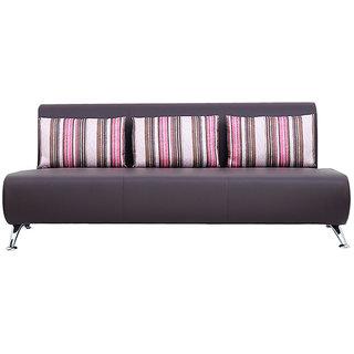 Oscar 3 Seatrer Purple Color Sofa