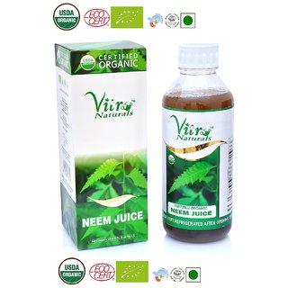 Vitro naturals Certified Organic Neem Juice 1 Ltr