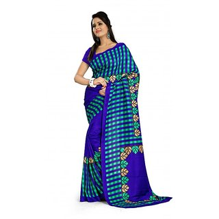 Maxis Printed Mysore Art Silk Saree