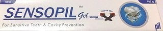 sensopil gel for sensitive teeth and cavity prevention(set of 4 pcs.)