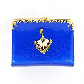 Velamart PU Leather PEACOCK Design Girls  Teens Trendy Clutch, Ladies Smart Purse, Stylish Womens Wallet