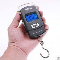 Digital luggage scale 50 kg Portable Electronic Handheld Hanging