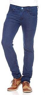 Bhagwati Men's Slim Fit Blue Jeans