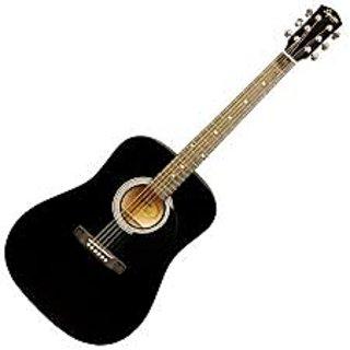Jimm K1 Acoustic Guitar Black