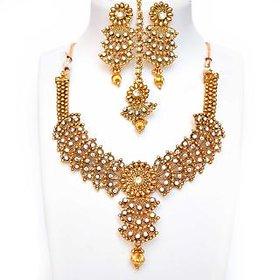 Beeline Charming flower design modern Necklace Set for Women