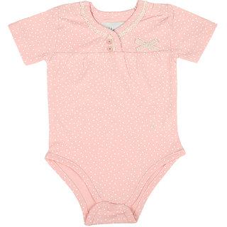 KODI Baby Pink Organic Cotton Bodysuit