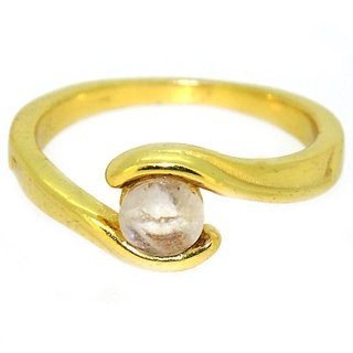 Casa De Plata Pink  R.M.S. Gold Plated Ring