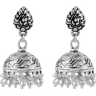 Silver Shop Metal Earring Jhoomki