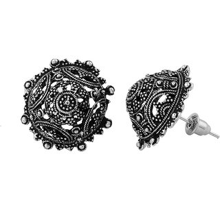 Silver Shop Metal Earring