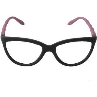 Blue-Tuff Women UV Protected Cat-Eye Type2 Sunglass BLK/PNK