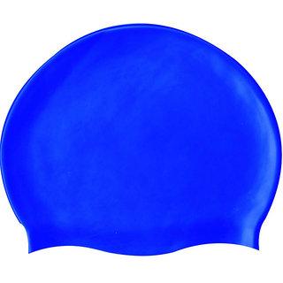 SILICONE SWIM CAP - Assorted Colors 1pc Pack