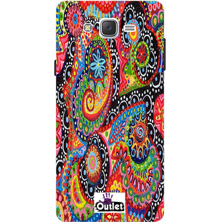 HI5OUTLET Premium Quality Printed Back Case Cover For Samsung Galaxy J1ACE Design 55
