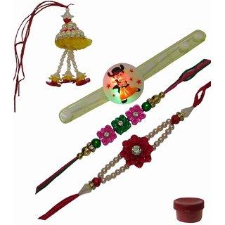 Laviva ROB13234 Fascinating Rakhi Combo for Family