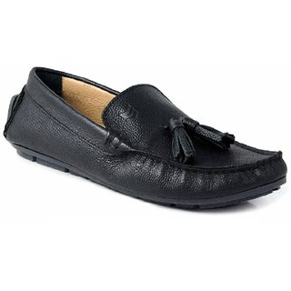 SATMARC Alexander Black Men Loafers