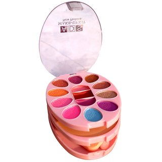 Ads Makeup Kit Contains Eyeshadhow, Compact Powder, Blusher And Lip Color.