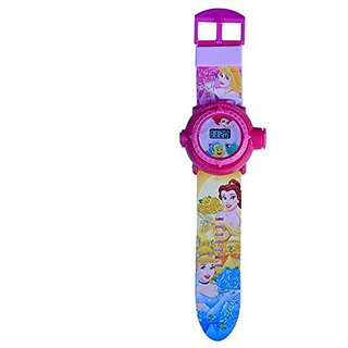 Kids Princess 24projector watch