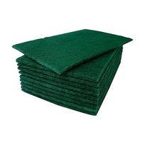 Green Pad Scrub For Cleaning (10 Pcs)