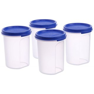 MM Round Container Set, 440ml, Set Of 4