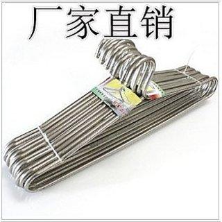 Cloth Steel Hanger - 6pcs