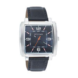 Titan 1586SL02 Analog Watch - Black