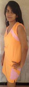 LBH Lily's of Beverly Hill Orange Top/T-Shirt & Skort/Skirt