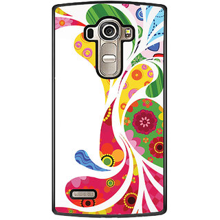 Flashmob Black 2D Printed Back Cover for LG G4