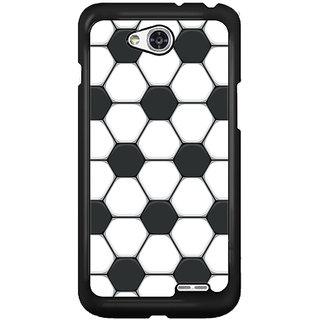 Flashmob Black 2D Printed Back Cover for LG L90 2D-BLACK-LGL90-1211