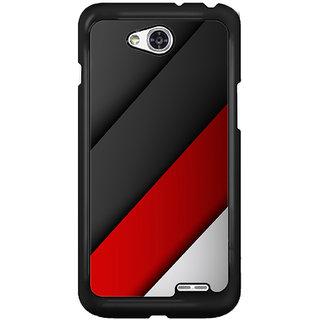 Flashmob Black 2D Printed Back Cover for LG L90 2D-BLACK-LGL90-1313