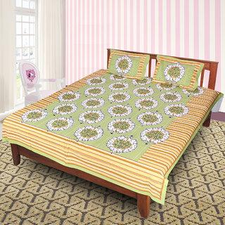 Jaipuri 100 Cotton Bedsheet(JPR12)