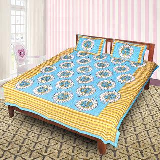 Jaipuri 100 Cotton Bedsheet(JPR13)