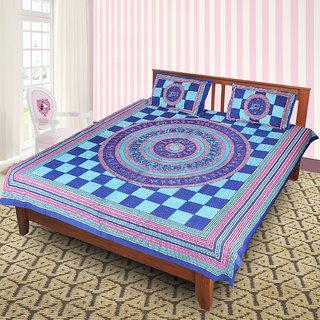 Jaipuri 100 Cotton Bedsheet(JPR17)