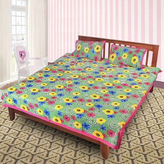 Jaipuri 100 Cotton Bedsheet(JPR28)