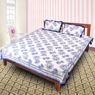 Jaipuri 100 Cotton Bedsheet(JPR48)