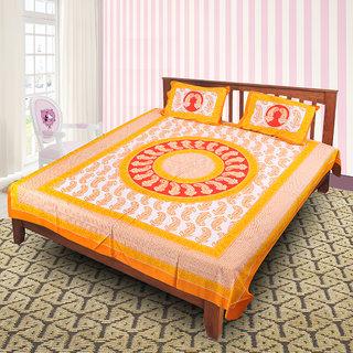 Jaipuri 100 Cotton Bedsheet(JPR60)