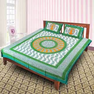 Jaipuri 100 Cotton Bedsheet(JPR62)