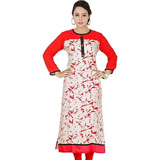 SRUTI Casual Self Design Womens, Girls Kurti
